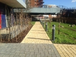 Harvest Priora Block Paving to Canal Footpath at Alperton Gateway