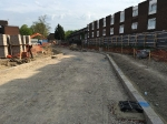 Sub-base Colindale prior to laying AC 32 Base & AC 20 Binder