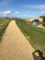 STANTON LOW PARK Reconstruction New Paths with Spray Tar & Shingle Finish